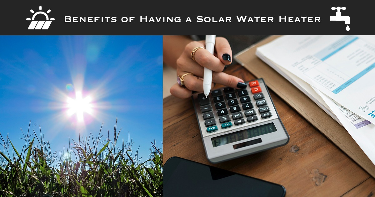 Benefits of Solar Water Heater Arizona