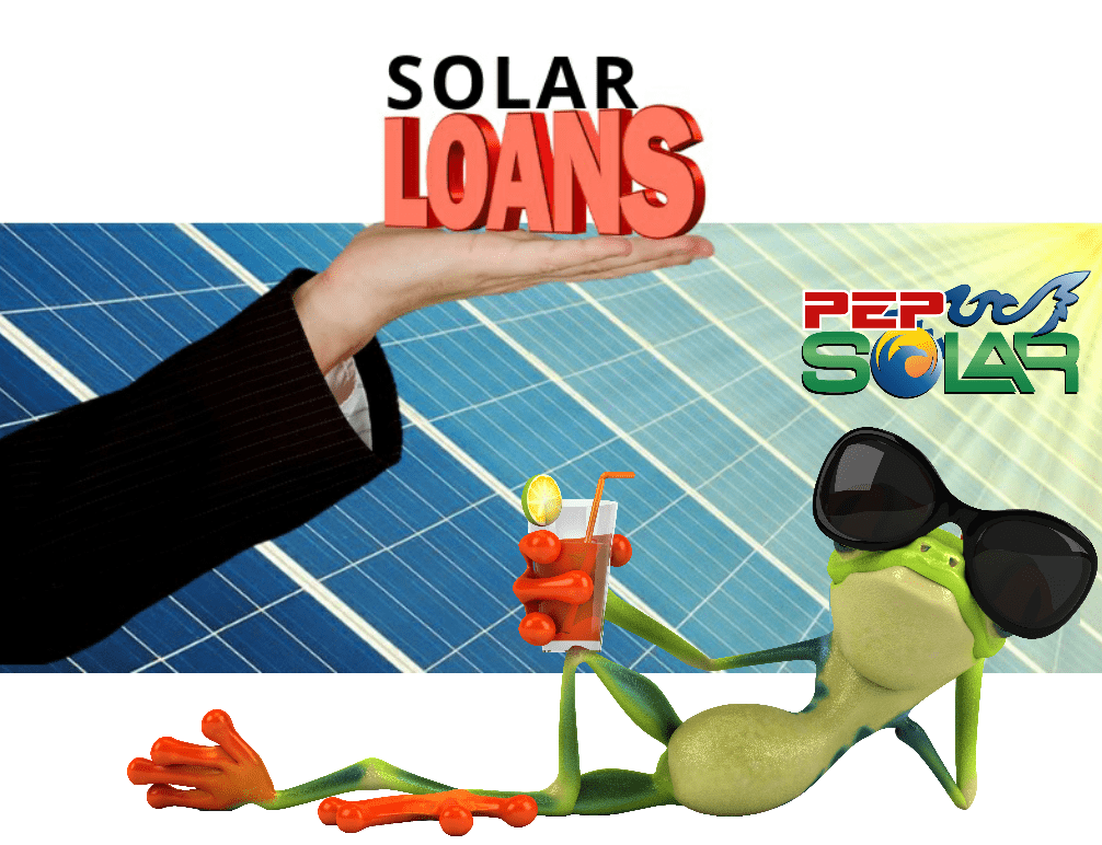 solar loans with hand